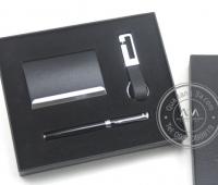 Gift set Hộp đựng name card - Bút - Móc khóa