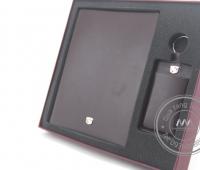 Gift set Sổ - Bút - Móc khóa da cao cấp