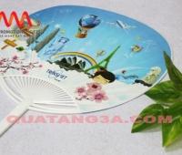 Sản xuất quạt nhựa quảng cáo