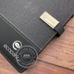 Quà tặng doanh nghiệp | Sổ sạc đa năng in logo theo yêu cầu