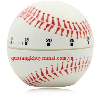 Đồng hồ nhà bếp hình bóng chày