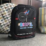 Quà tặng doanh nghiệp balo, túi xách, cặp học sinh in logo mẫu 1