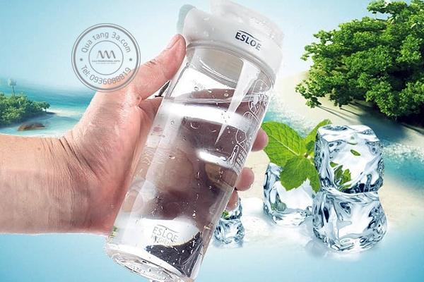 Quà tặng doanh nghiệp Bình nước in logo mẫu 2