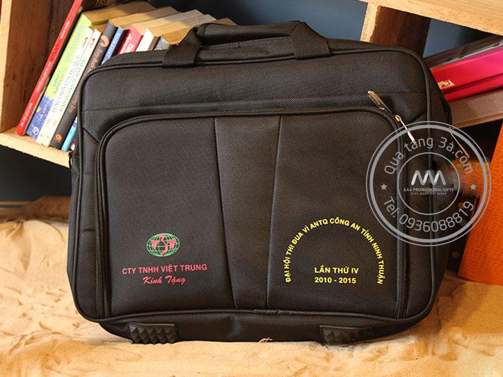 Cặp laptop quà tặng in logo