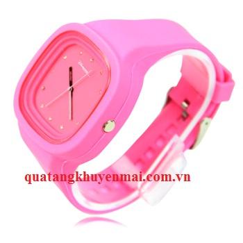 Đồng hồ đeo tay thiết kế mặt kim cương
