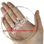Chặn giấy pha lê hình tròn