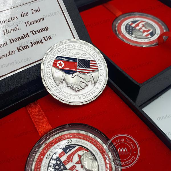 Đồng xu kỷ niệm Hội nghị thượng đỉnh Mỹ - Triều 2019 tại Hà Nội