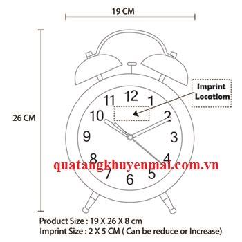 Đồng hồ báo thức hiện đại