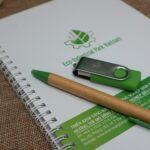 Bộ quà tặng bút sổ usb độc đáo Eco - Industrial Park Vietnam