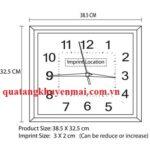 Đồng hồ treo tường mặt vuông