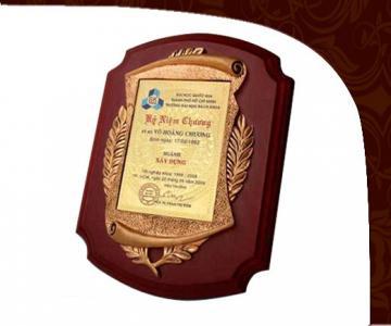 Kỷ niệm chương kim loại KKL007