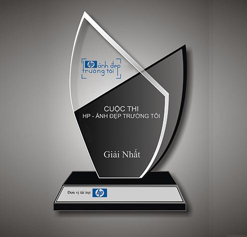 Kỷ niệm chương pha lê KPL004