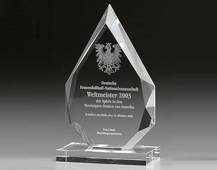Kỷ niệm chương pha lê KPL006