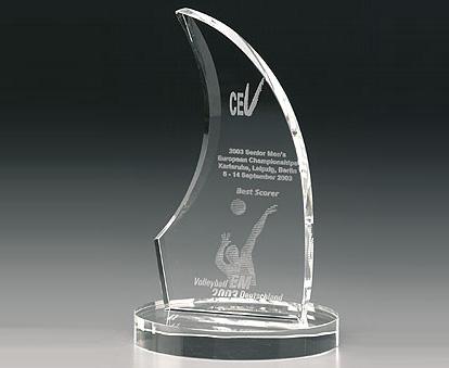 Kỷ niệm chương pha lê KPL007