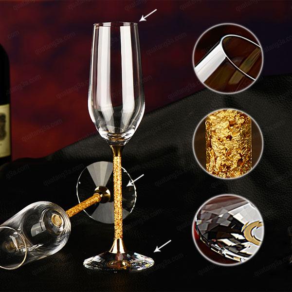 Quà tặng doanh nghiệp ly rượu vang cao cấp mẫu 2
