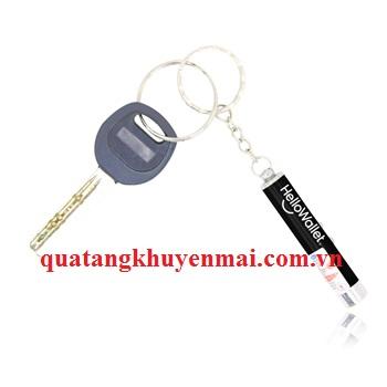 Móc chìa khóa bút laze