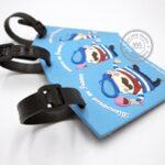 Quà tặng doanh nghiệp Tag hành lý in logo mẫu 1