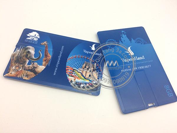 USB namecard quà tặng - Vinpearl Land