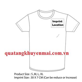 Áo T-shirts cotton trơn