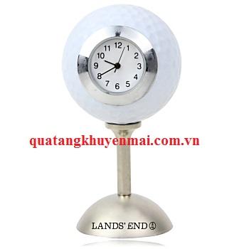 Đồng hồ để bàn hình trái bóng
