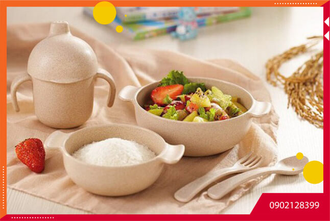 Đồ dùng từ bột lúa mạch - món quà thân thiện với môi trường