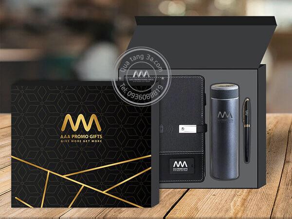 Gift set quà Tết Modern - Quà tặng sản xuất nhanh 24-72h