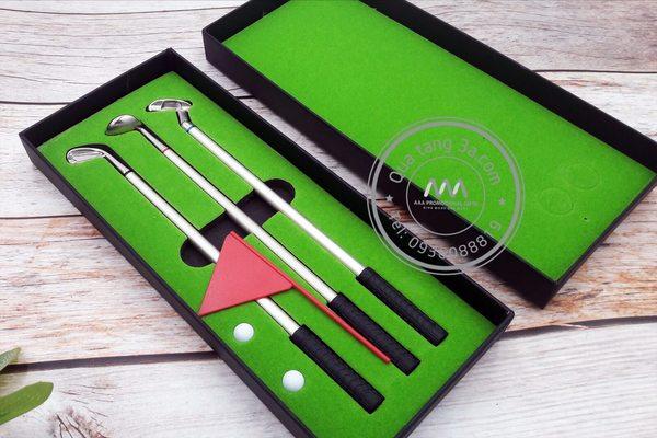 Bộ bút bi quà tặng khách hàng in logo độc đáo