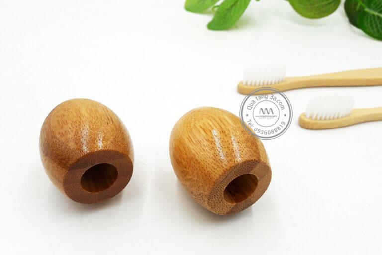 Bàn chải đánh răng tre đế gỗ