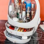 Hộp đựng mỹ phẩm nhựa - Quà tặng khách hàng nữ sang trọng