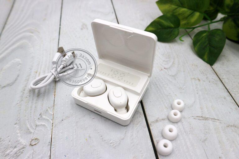 Hộp tai nghe không dây in logo – Món quà tặng công nghệ độc đáo