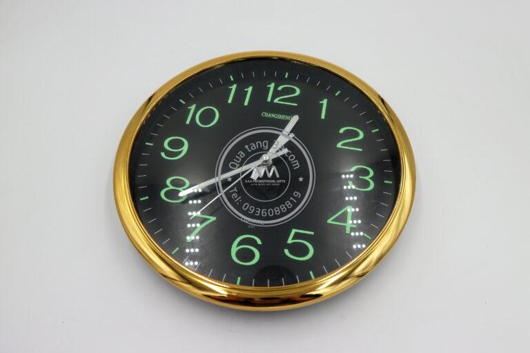 Đồng hồ treo tường phản quang | Quà tặng khách hàng - đẹp - độc và tiện ích