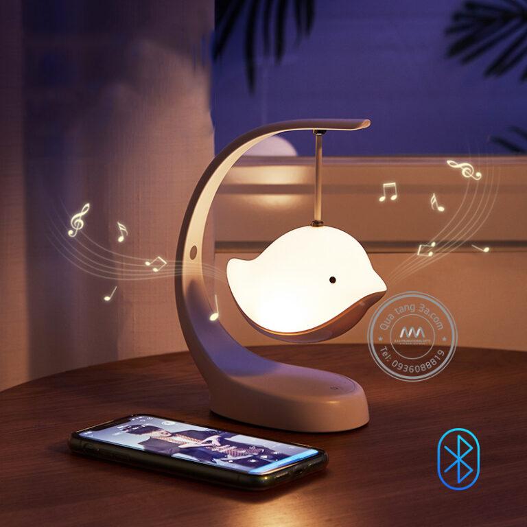 Đèn ngủ phát nhạc hình chim bay - Quà tặng độc đáo hữu ích