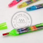 Gói bút màu   Quà tặng học sinh độc đáo - in logo theo yêu cầu