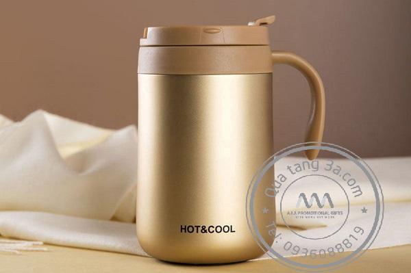Cốc coffee có quai cầm - Món quà tặng khuyến mại độc đáo