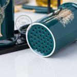 Bộ cốc đựng đũa thìa bằng sứ - quà tặng dành cho các khách hàng nội trợ
