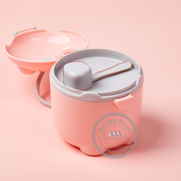 Hộp đựng sữa bột cho bé – Quà tặng khuyến mãi ngành tiêu dùng