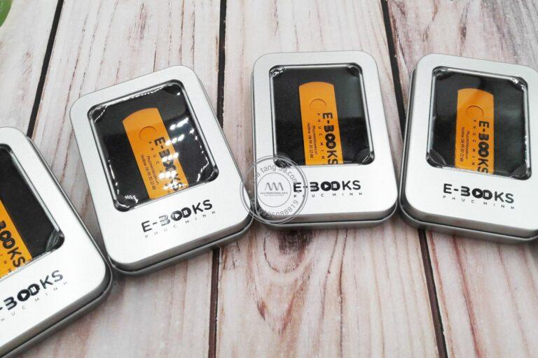 USB quà tặng vỏ kim loại hộp thiếc - In ấn logo thương hiệu